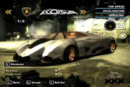 Need For Speed Most Wanted Black